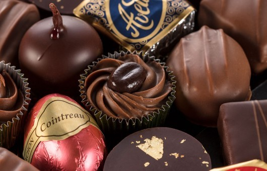 Mini ballotin 5 chocolats