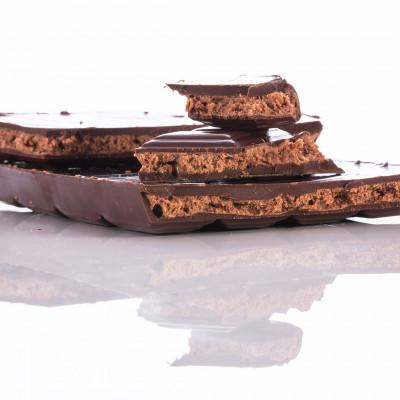 Les tablettes et cacao en poudre